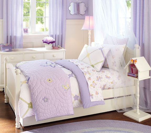 little girl room ideas purple photo - 6