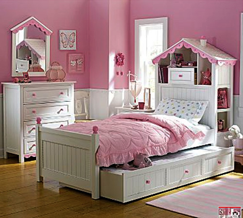 little girls bedroom ideas furniture photo - 1