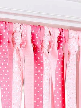 little girls room curtain ideas photo - 2