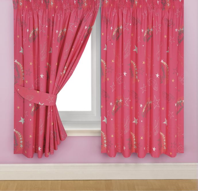 little girls room curtain ideas photo - 3