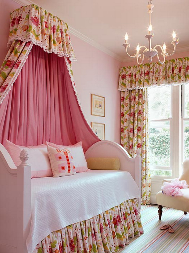 little girls room curtain ideas photo - 4