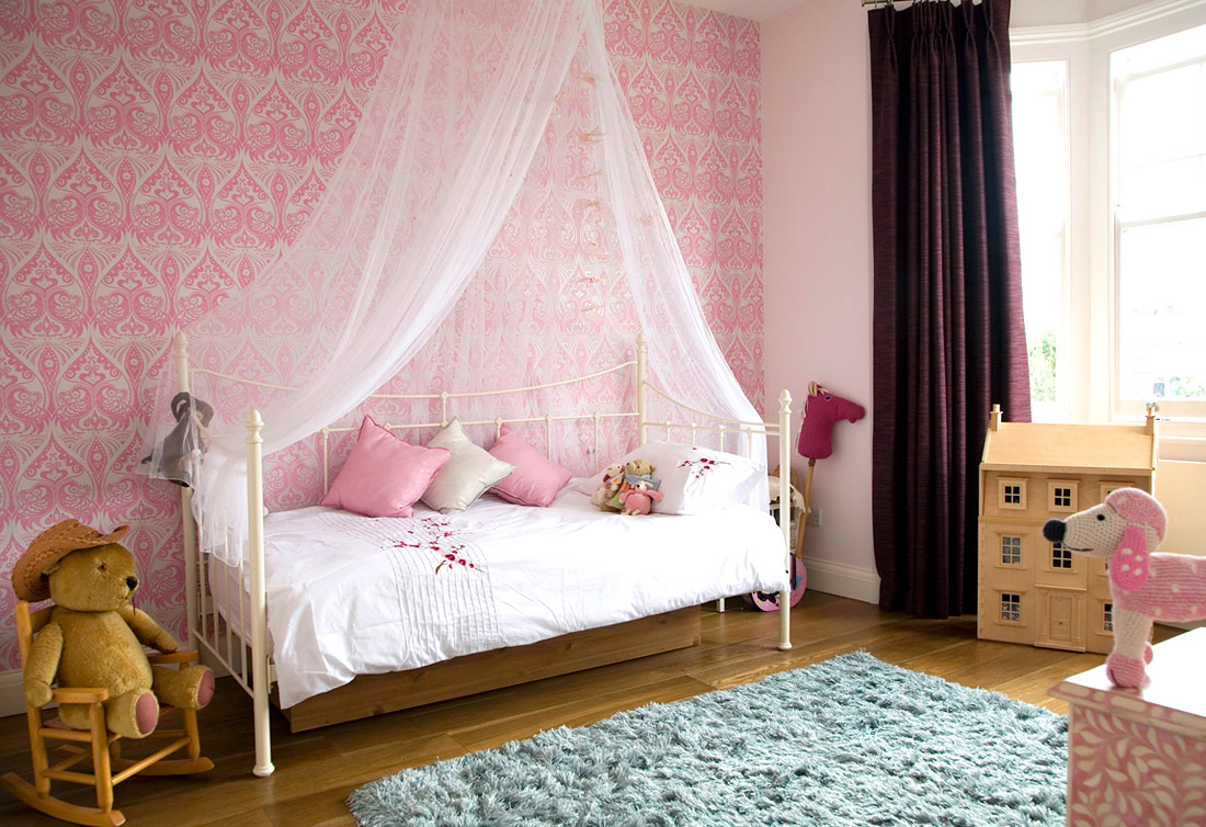 little girls room curtain ideas photo - 6
