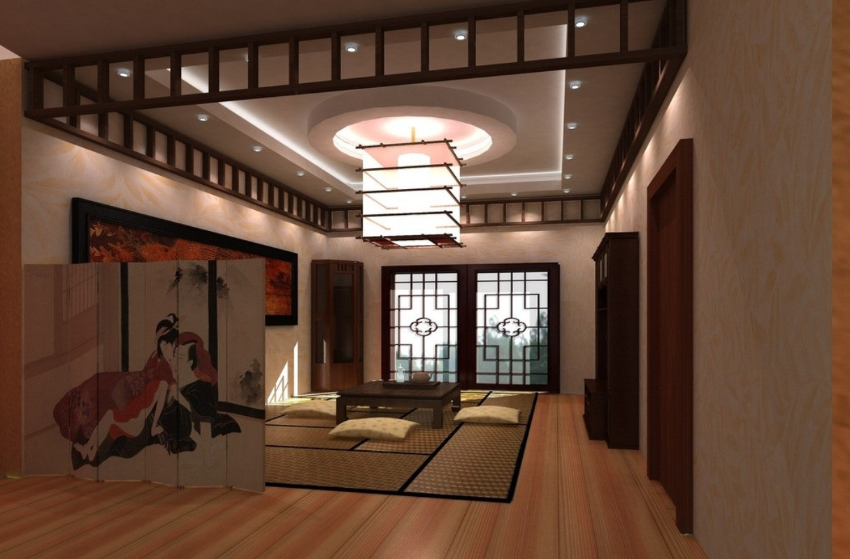 Japanese Style Living Room Living Room Design Japanese Style  Interior & Exterior Doors