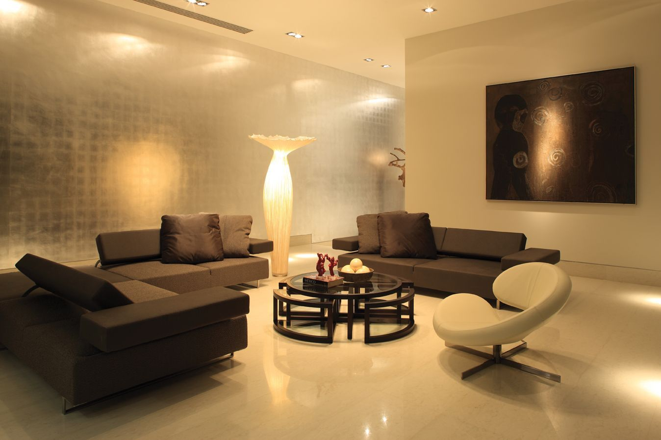 living room design lighting photo - 5