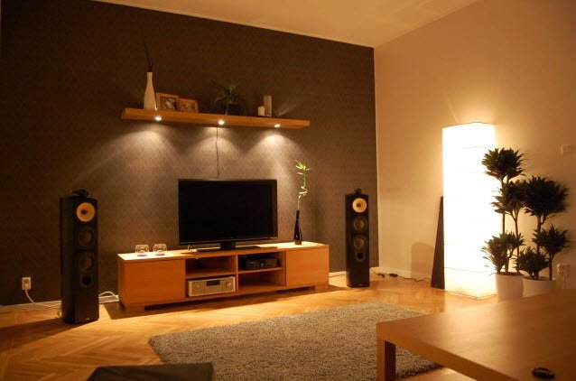 living room designs and colours photo - 3