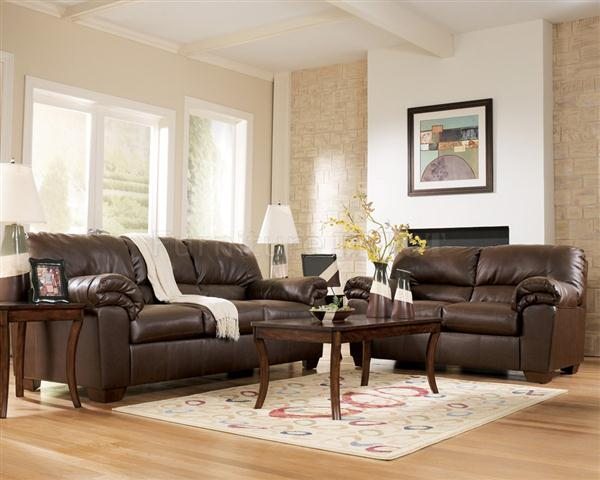 living room designs brown couch photo - 1