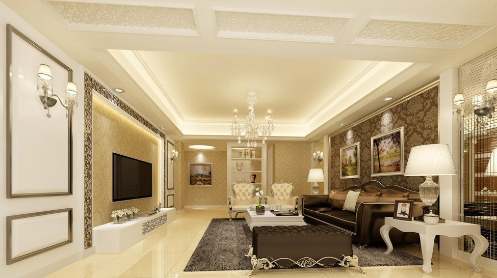 living room designs classic photo - 1