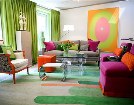 living room designs color photo - 5