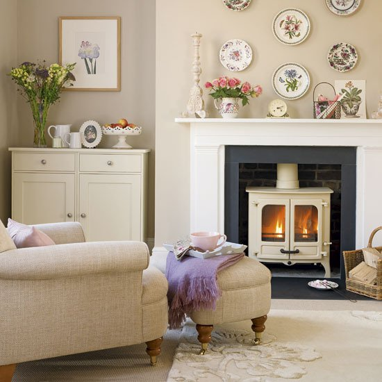 living room designs country photo - 4