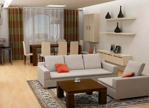 living room furniture ideas for small spaces photo - 5