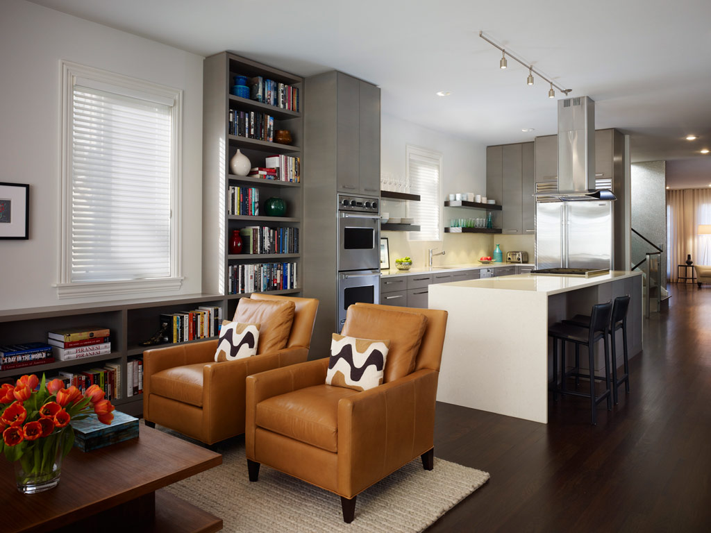 living room kitchen designs photo - 4