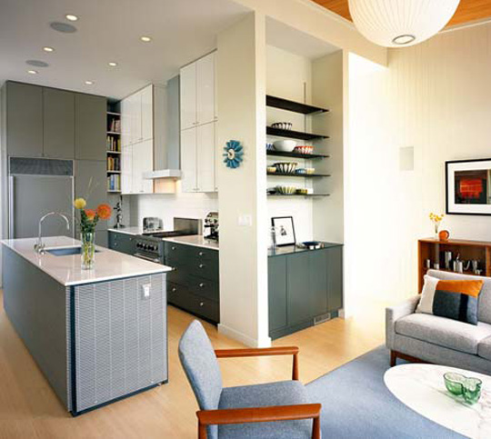 living room kitchen designs photo - 6
