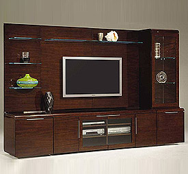 living room lcd tv wall unit design ideas photo - 5