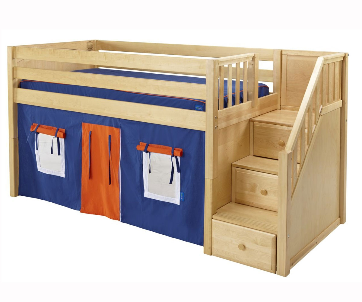 low twin beds for kids photo - 3