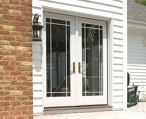 French Door Exterior Lowes Shop Patio Doors at Lowes com
