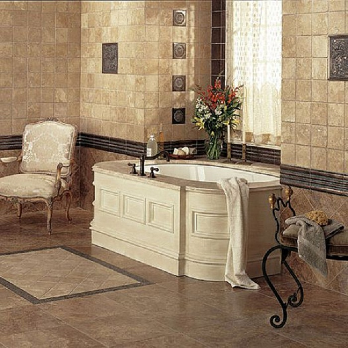 luxury bathroom tiles designs photo - 1