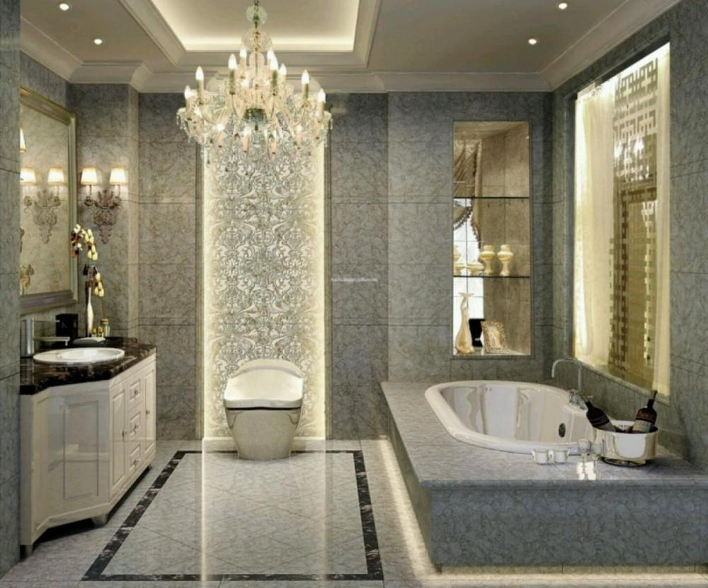 luxury bathroom tiles designs photo - 3