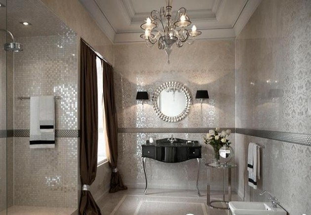 luxury bathroom tiles designs photo - 4