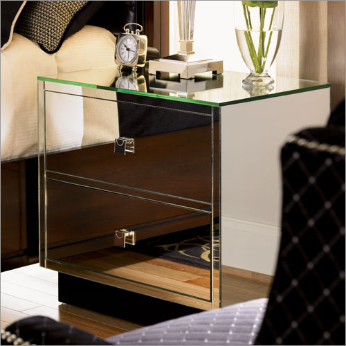 luxury mirrored bedroom furniture photo - 3
