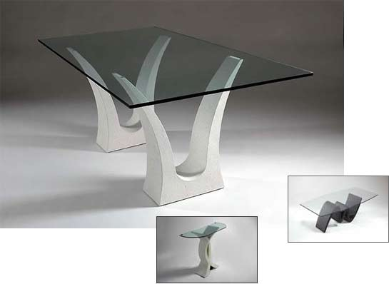 marble coffee table design photo - 2