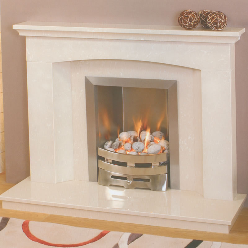 marble fire surrounds photo - 1