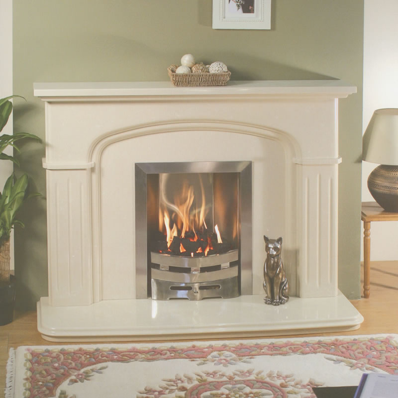 marble fire surrounds photo - 4