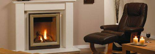 marble fire surrounds for wood burners photo - 3
