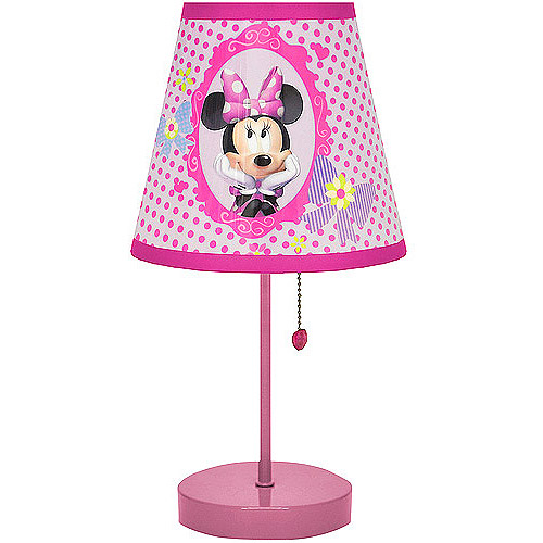 minnie mouse bedroom lamp photo - 1