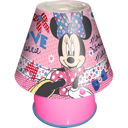 minnie mouse bedroom lamp photo - 3
