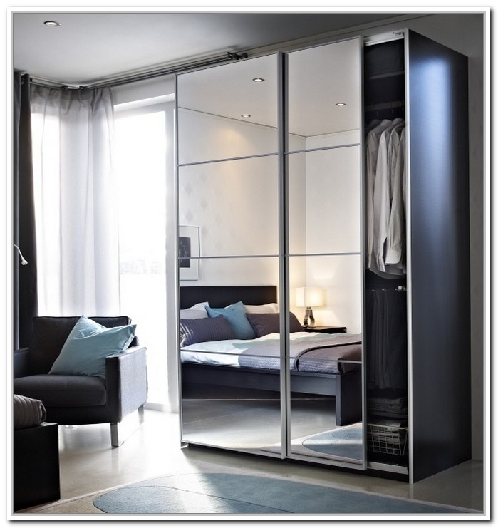mirrored closet doors ikea photo - 1
