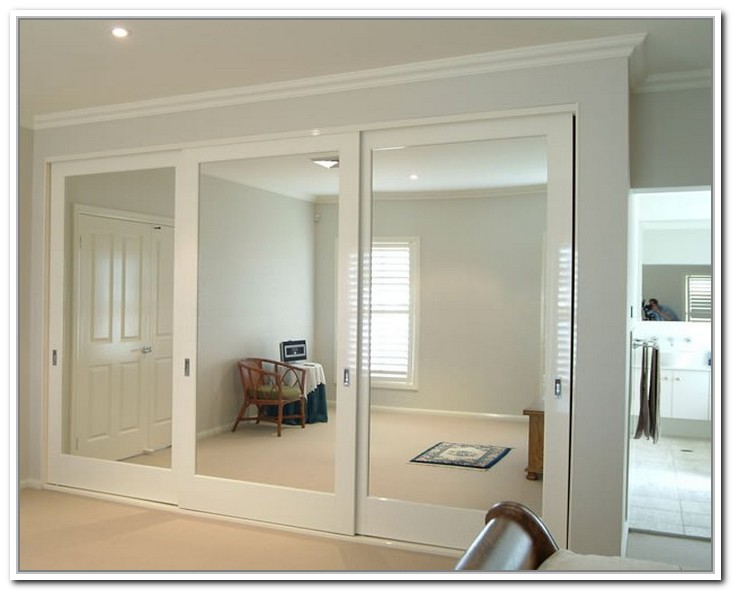 mirrored closet doors sliding interior u0026amp exterior doors