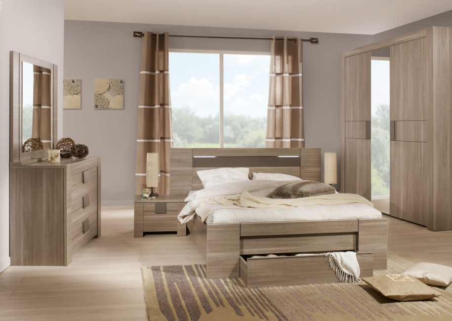 mirrored furniture bedroom designs photo - 4
