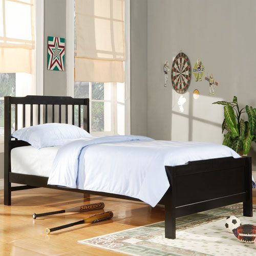 mission style bedroom furniture black photo - 2