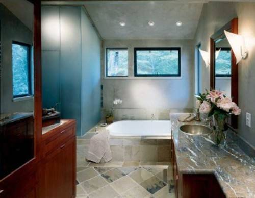 Model Home Bathroom Endearing Model Home Bathroom Decor  Interior & Exterior Doors Decorating Design