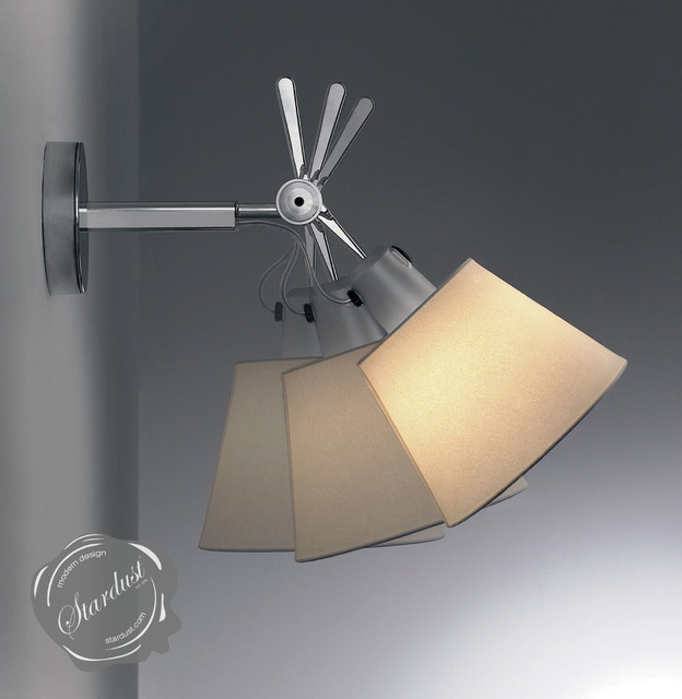 modern bedroom wall lamps photo - 1