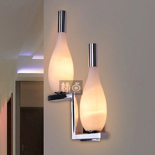 modern bedroom wall lamps photo - 6