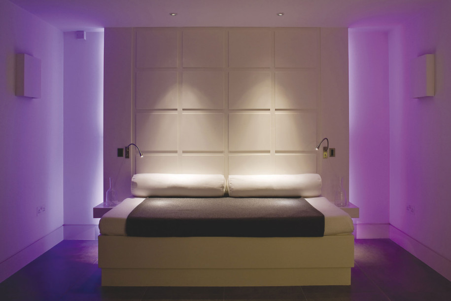 modern bedroom wall lighting photo - 3