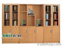 modern book cabinet design photo - 3