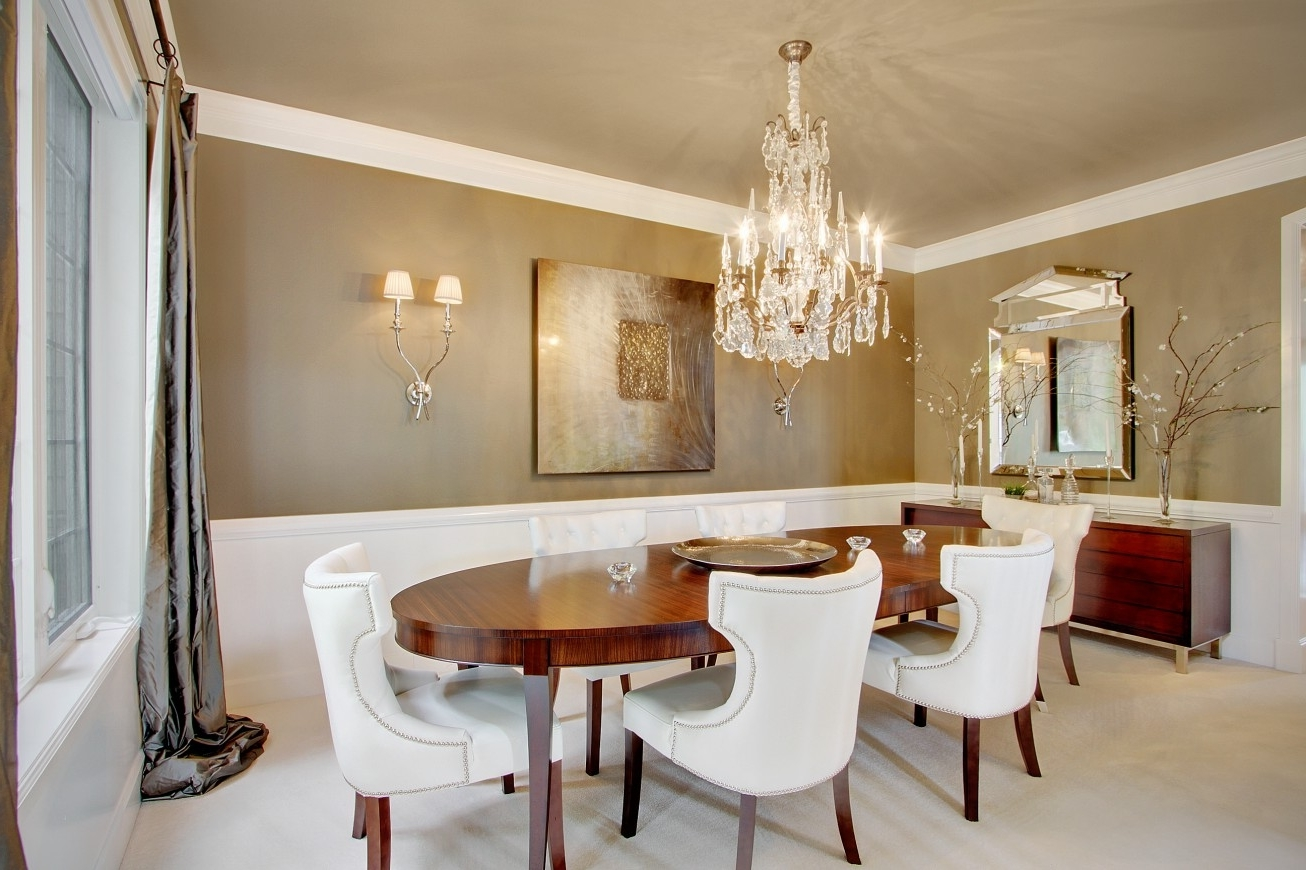 modern classic dining room photo - 4
