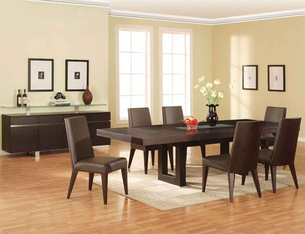 modern classic dining room sets photo - 3