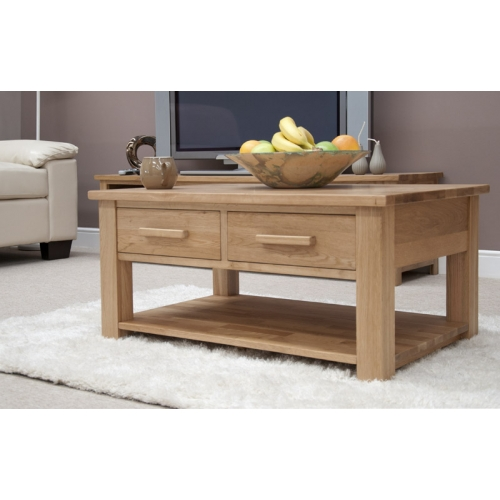 modern coffee table drawers photo - 3
