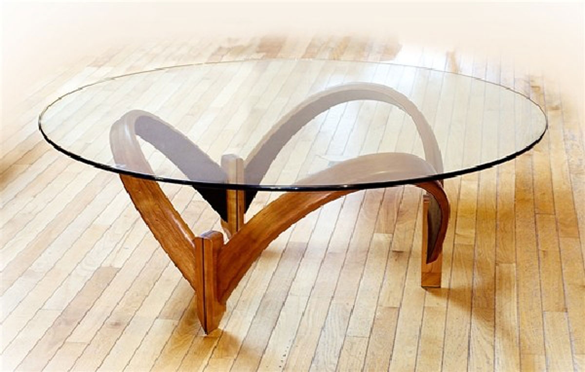 Modern Coffee Table Glass And Wood Interior amp Exterior Doors