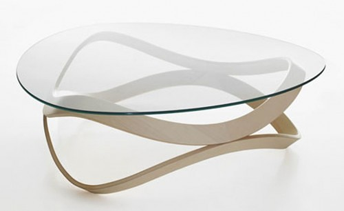 modern coffee tables glass top photo - 2
