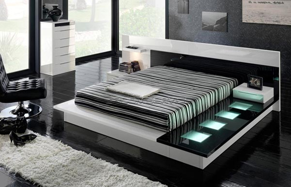 Modern contemporary bedroom furniture sets Interior Exterior Doors