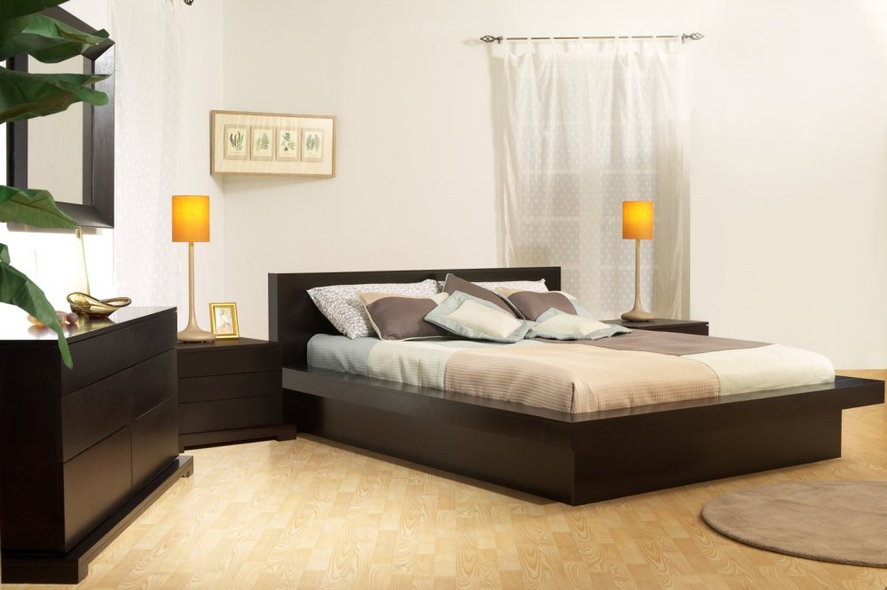 modern contemporary bedroom furniture sets photo - 3