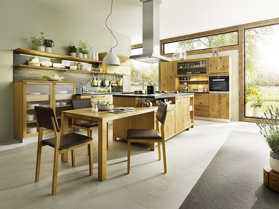 modern country cottage kitchen photo - 2