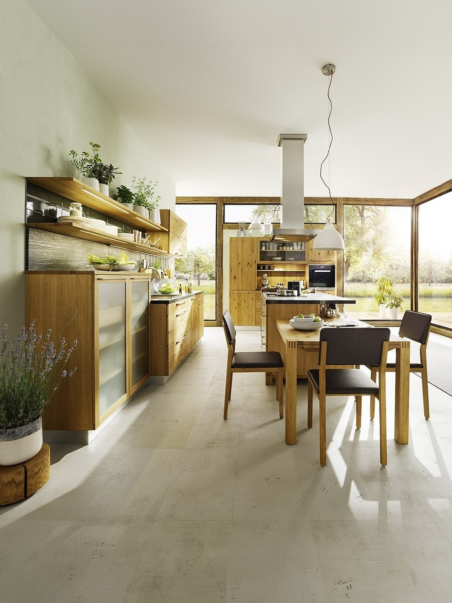 modern country cottage kitchen photo - 6