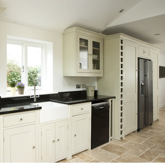 modern country kitchen cabinets photo - 2