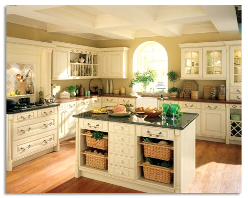 Country modern kitchen free small modern country kitchen for New kitchen decorating ideas