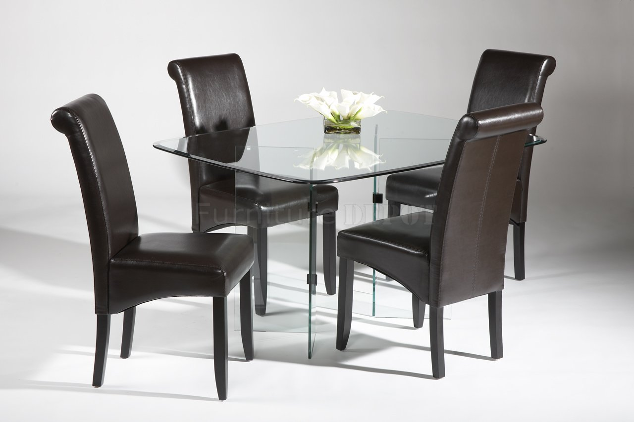 modern dining tables and chairs photo - 1